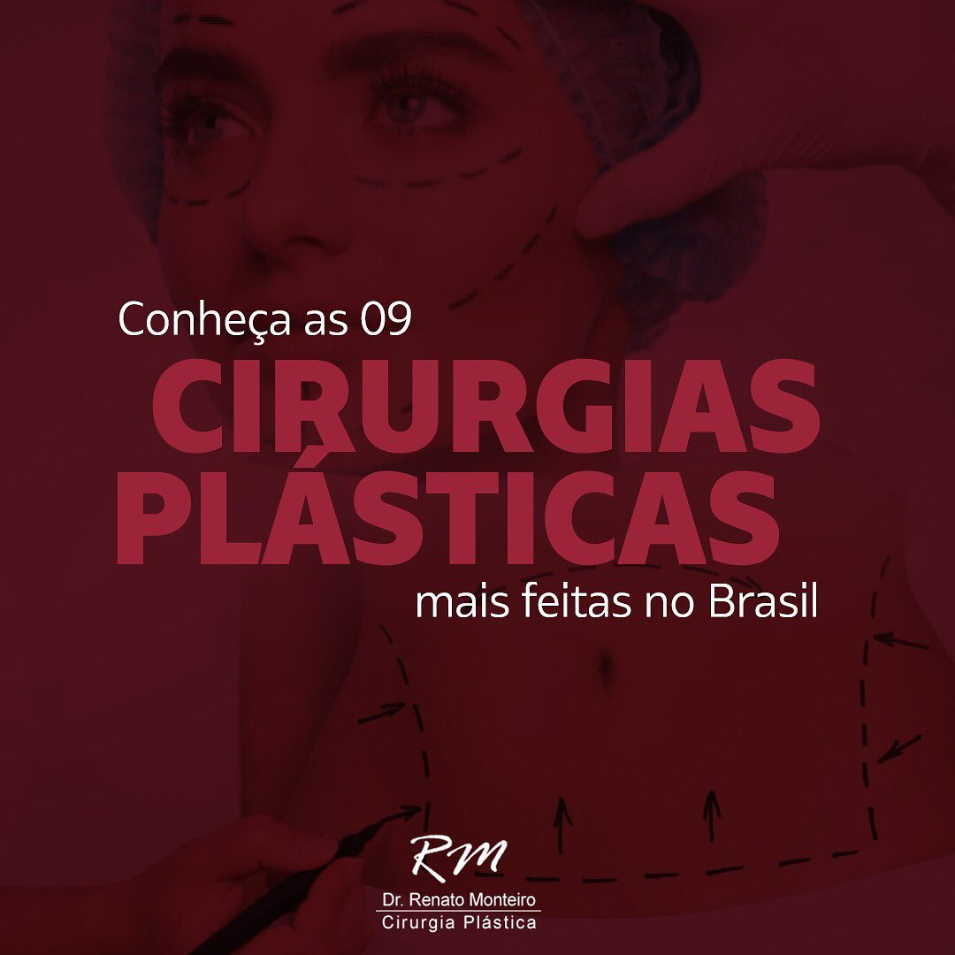 Conheça as 9 cirurgias plásticas mais feitas no Brasil